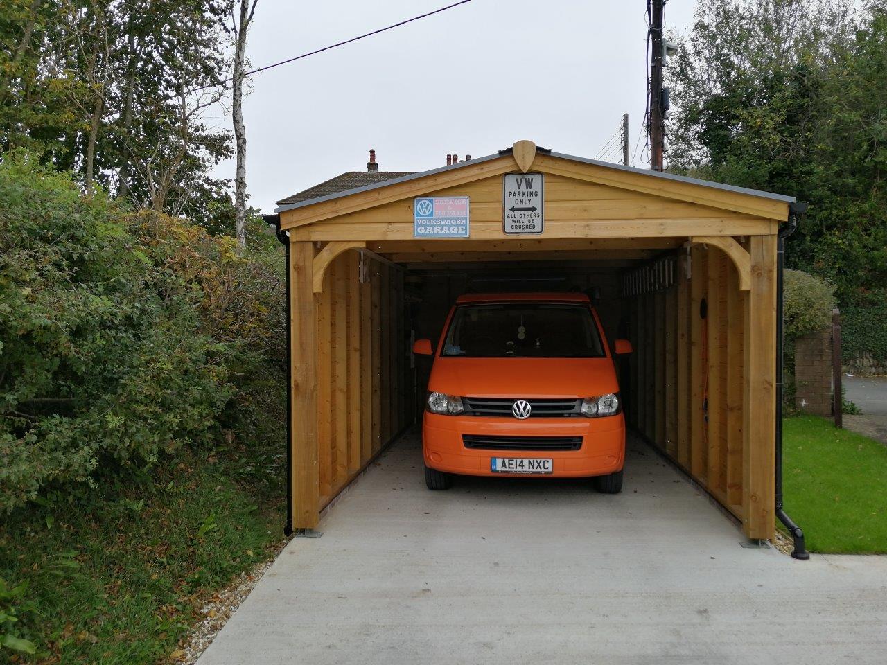Carport for Campervan