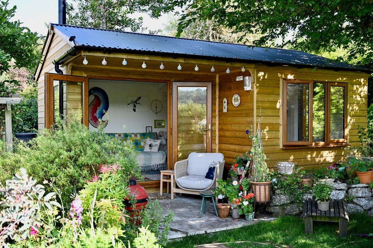 Studio with veranda
