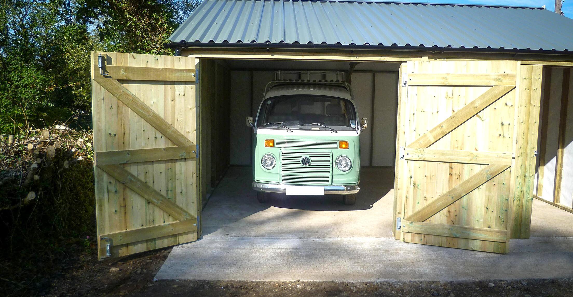 Extra height for camper van