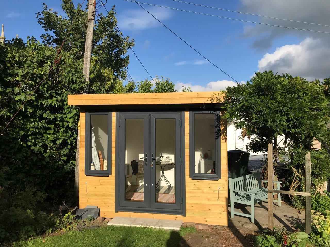 insulated garden room