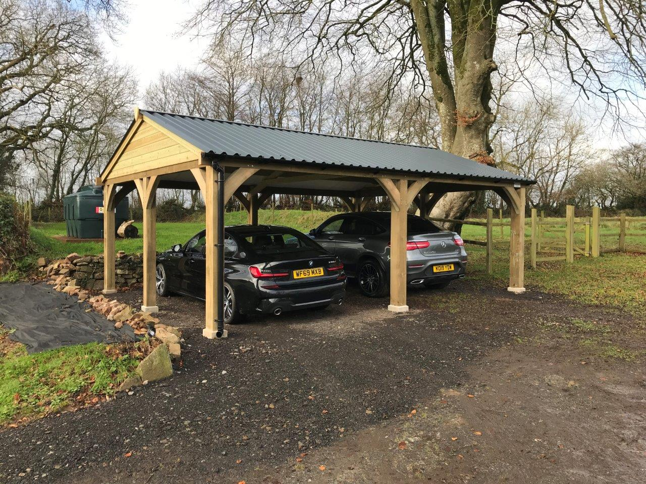 Open sided Carport
