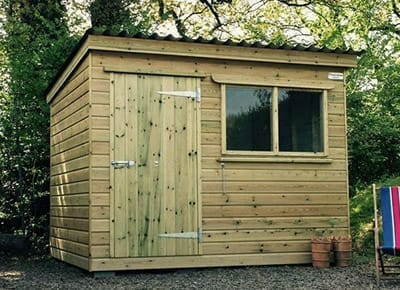 Bespoke Timber Shed with Window