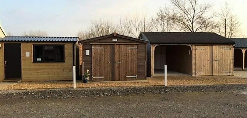 Design options for timber frame offices, carports and garages