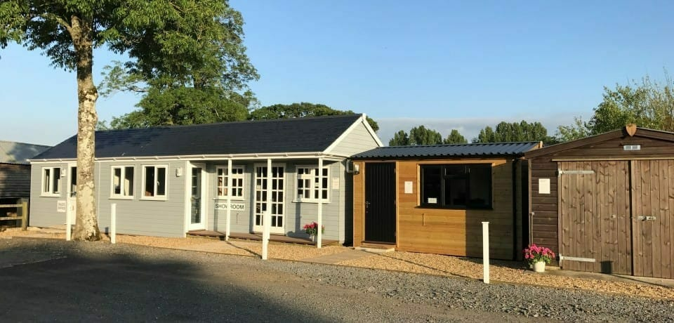 Visit our showroom to see timber building options