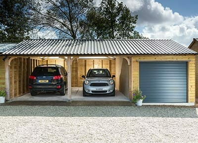 Premium wooden carports and garages built to order.