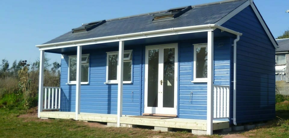 Customise your summerhouse with skylights and porch