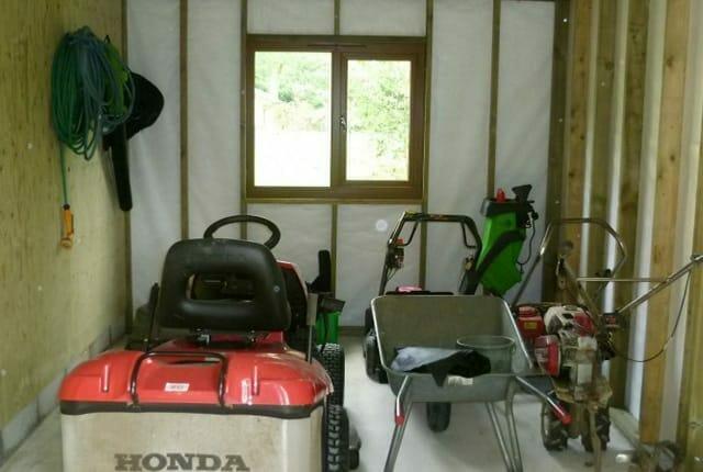 Custom built lawnmower and machinery store