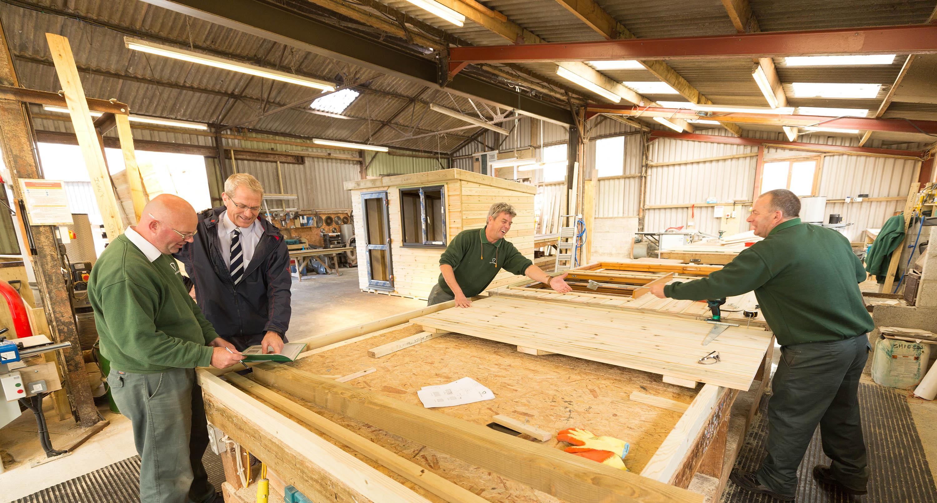 Devon timber building manufacturer