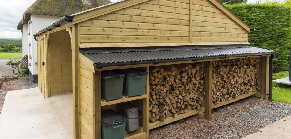 Timber Frame Carport And Workshop Case Studies Shields
