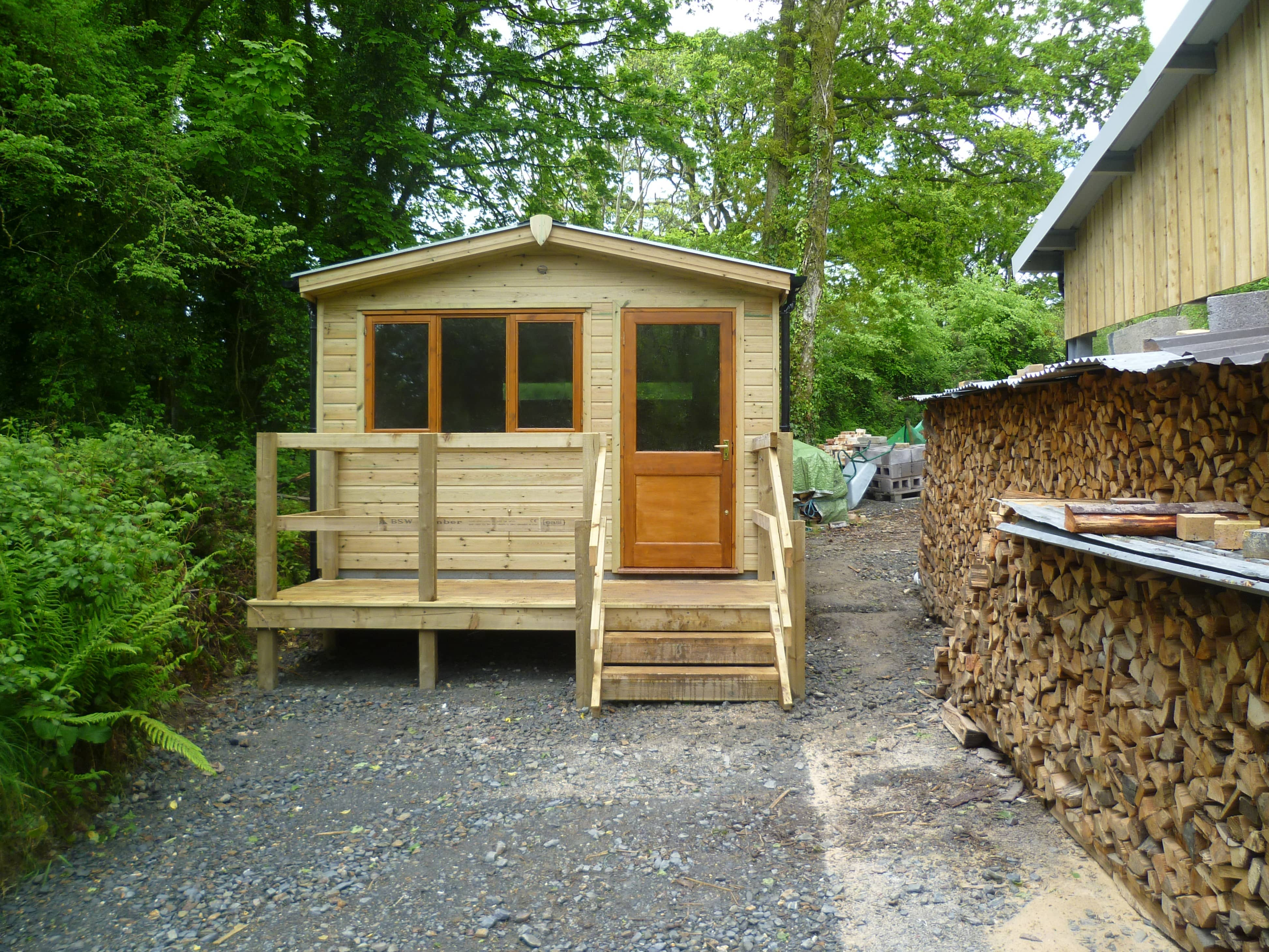 Customise your timber building with a porch