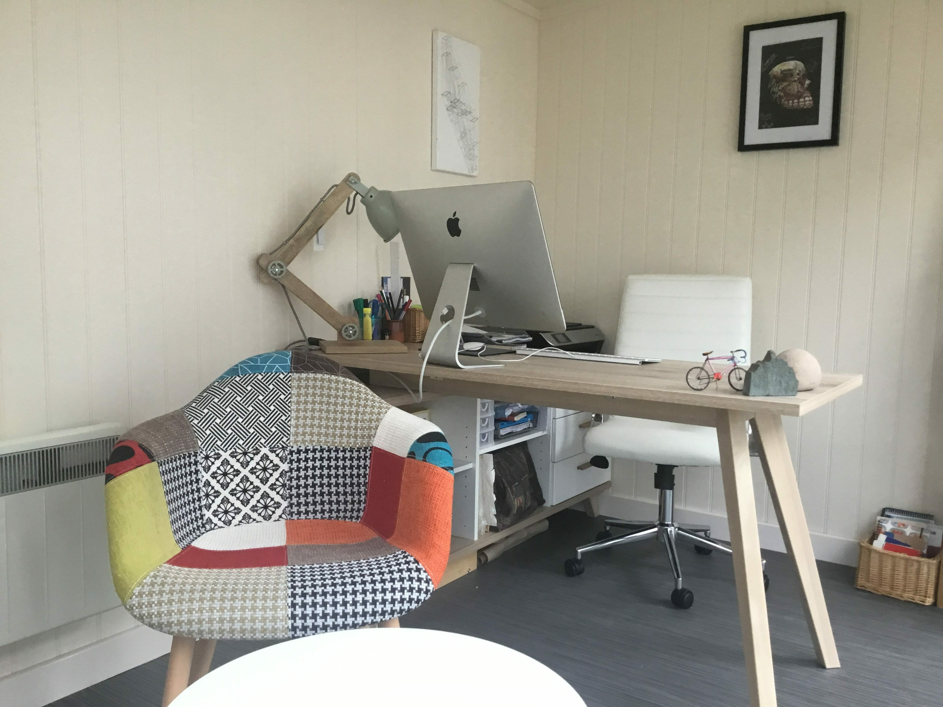 Garden studio office for designer
