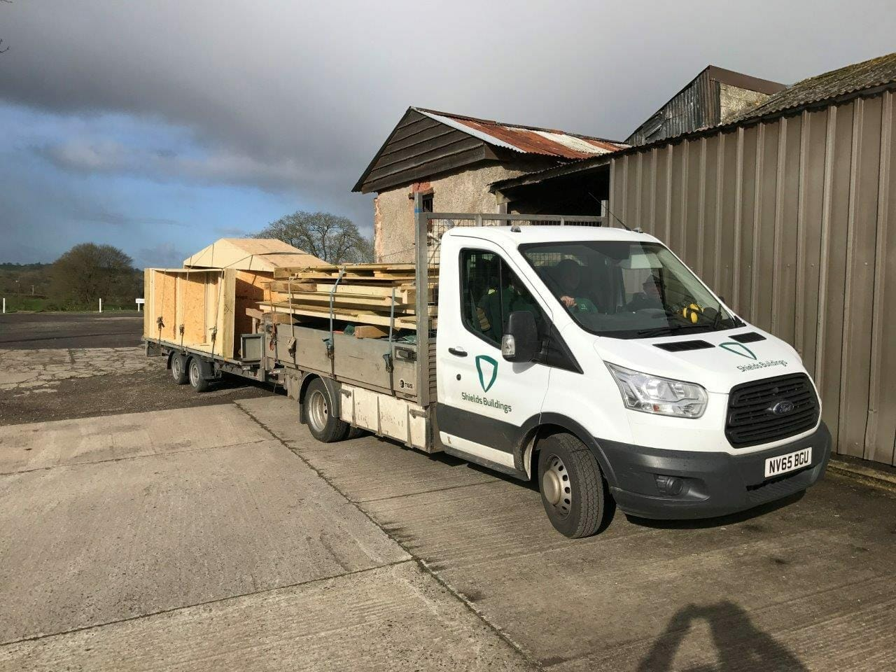 Delivering your timber building
