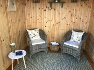 Summerhouse interior