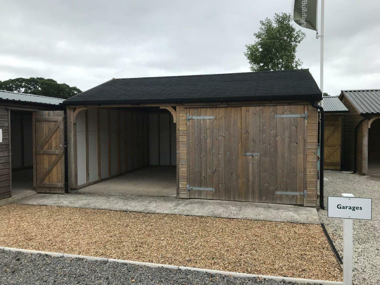 Combination garage