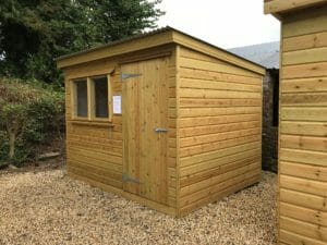 Display shed
