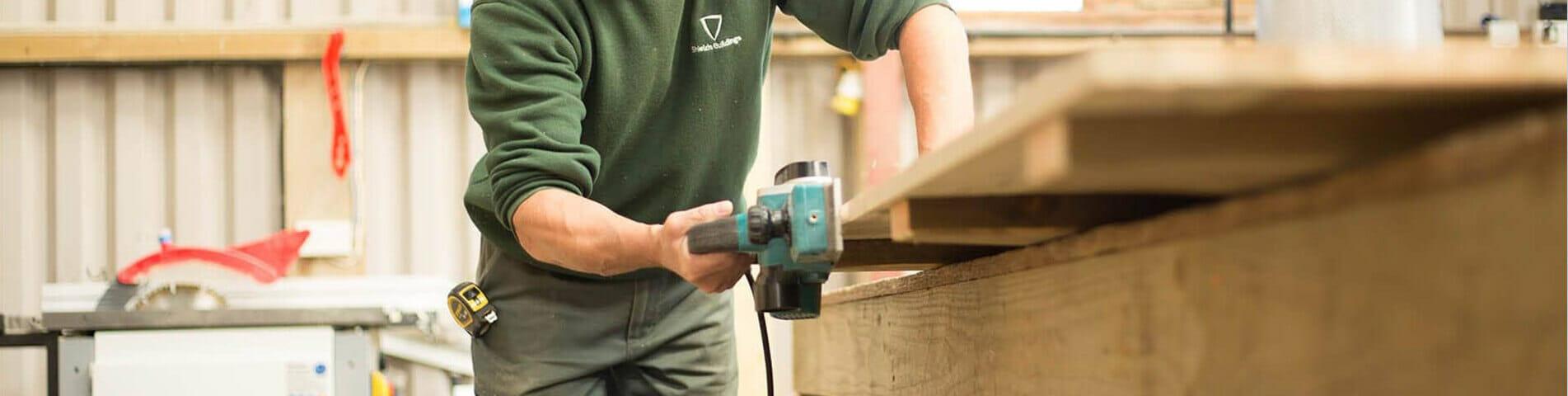 Preparing wood