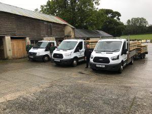Company vans